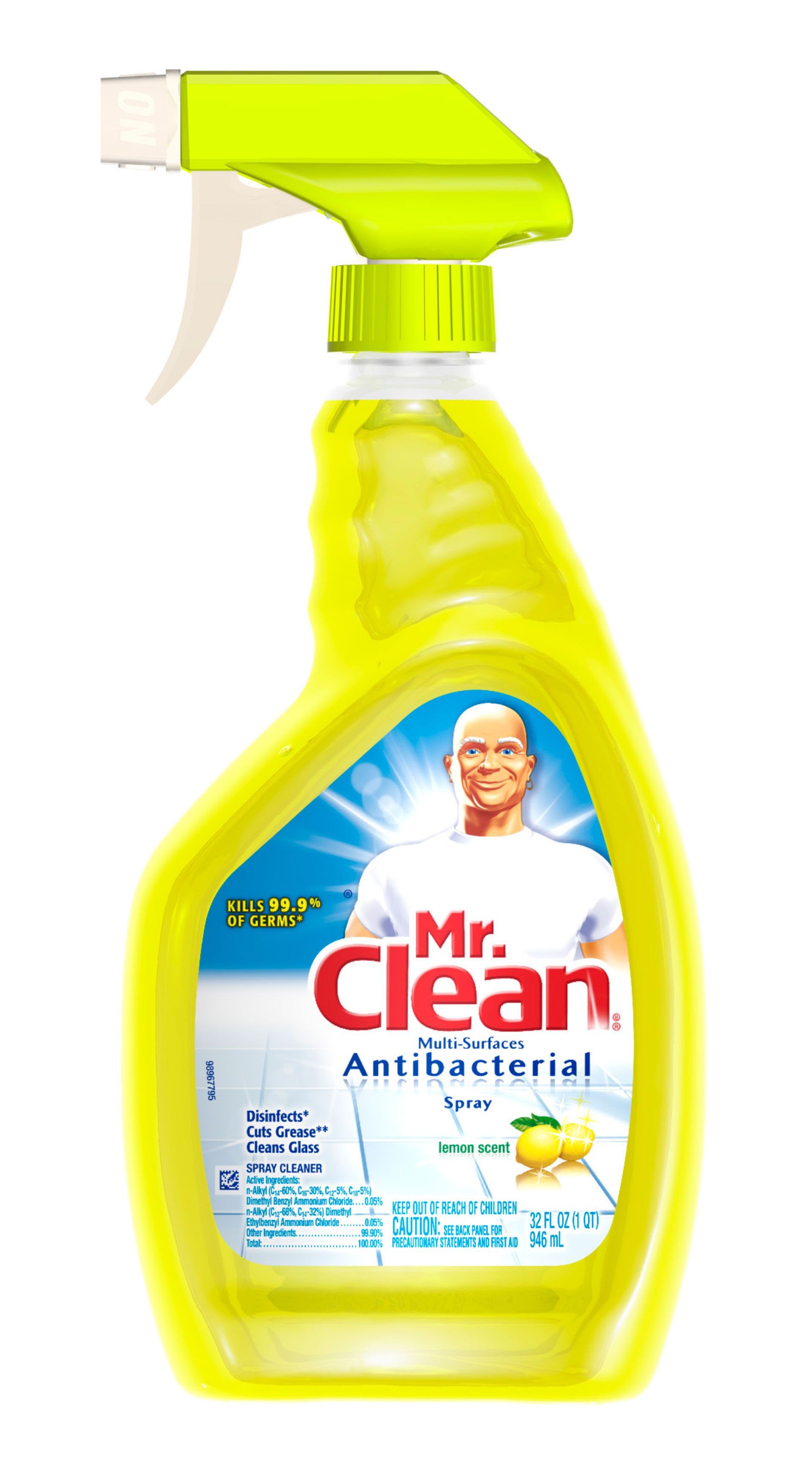 antibacterial spray