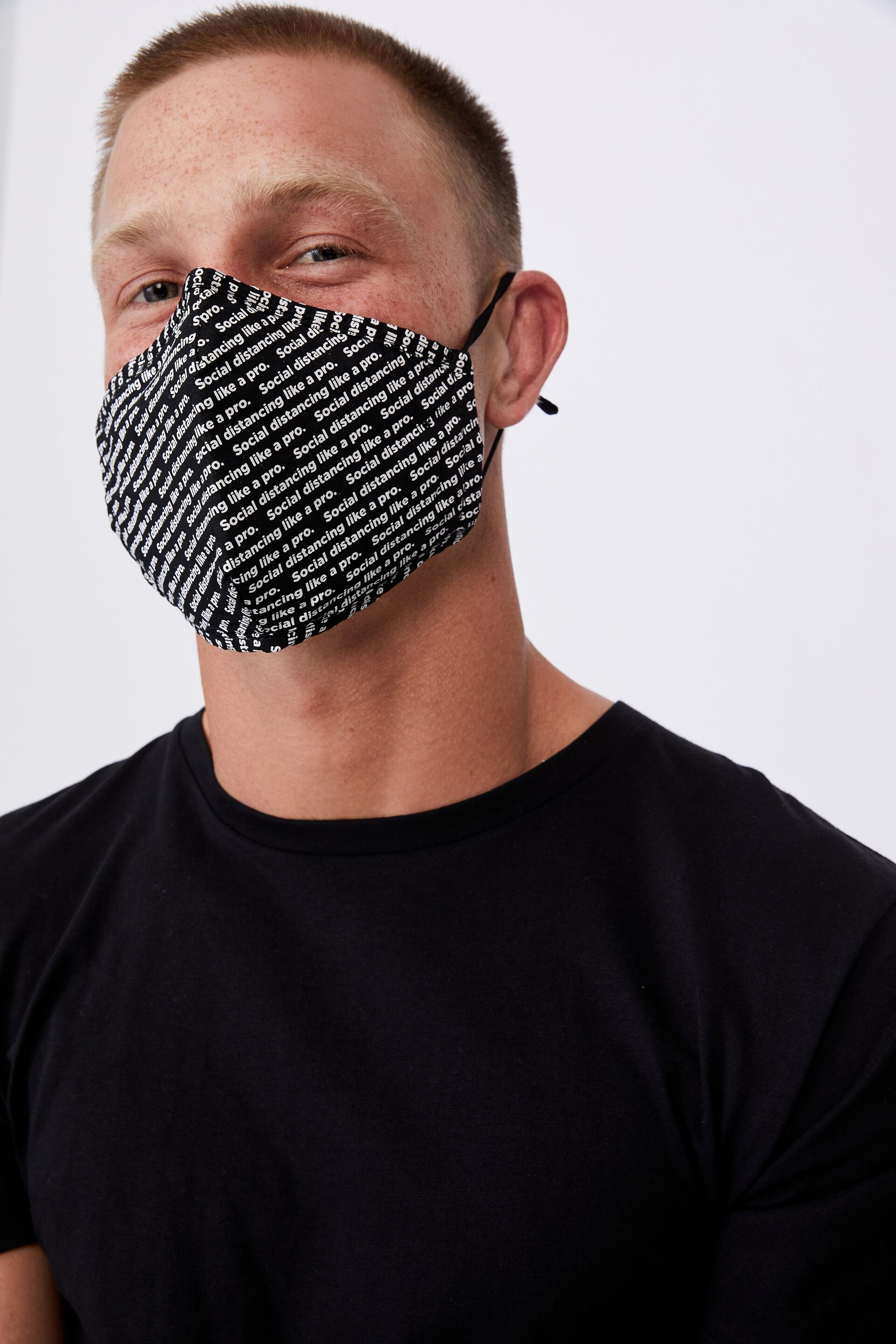 cotton on mask