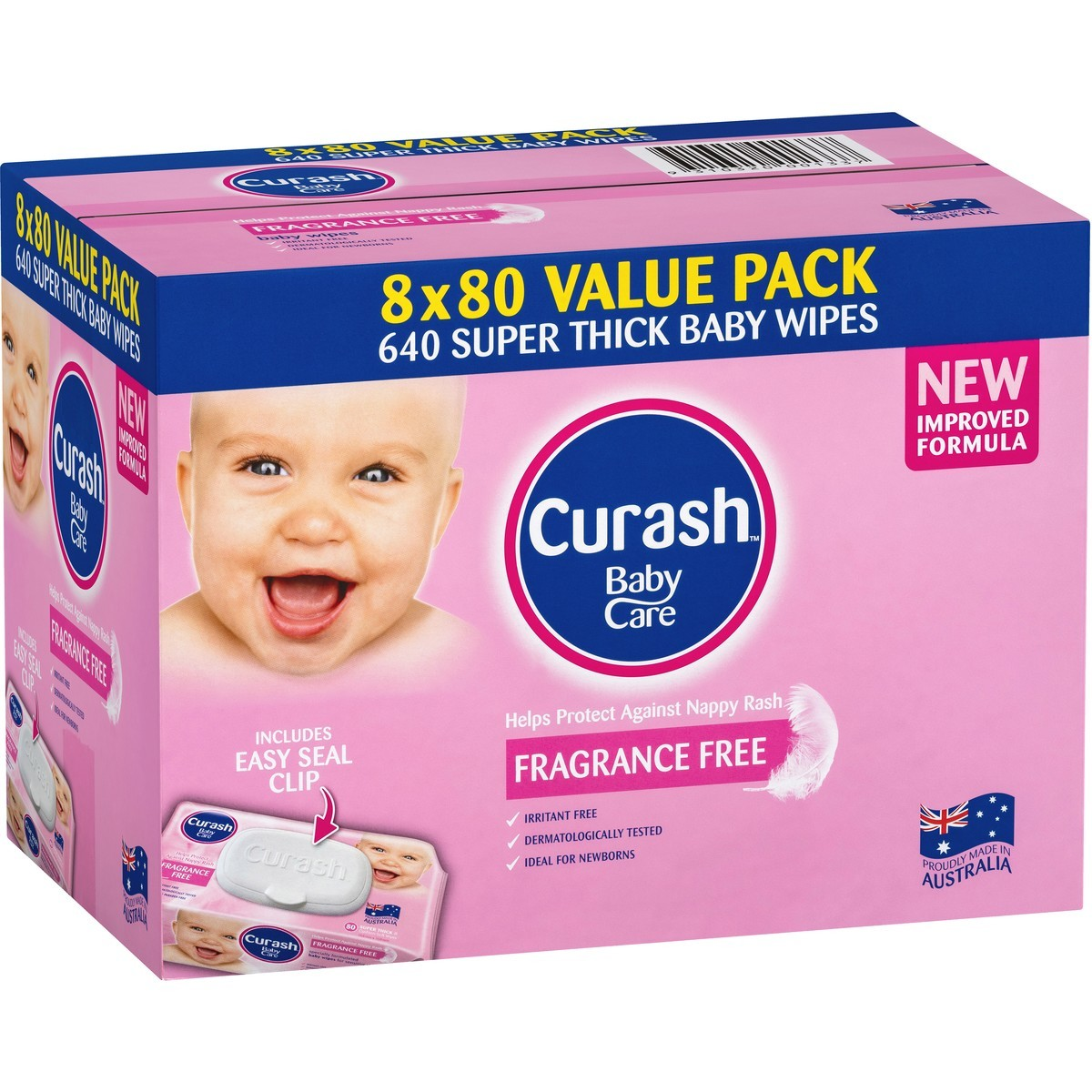 curash water wipes