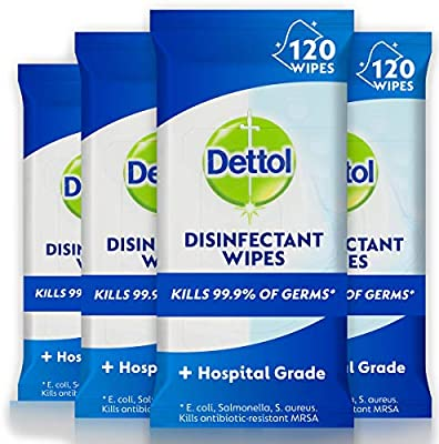 dettol antibacterial wipes