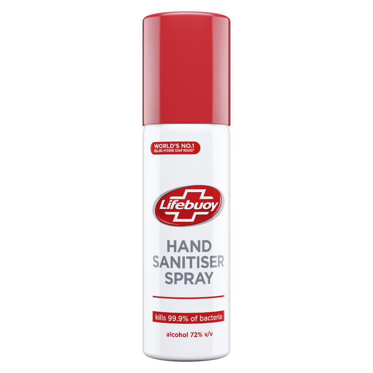 lifebuoy hand sanitiser spray