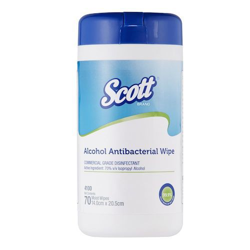 sanitising wipes